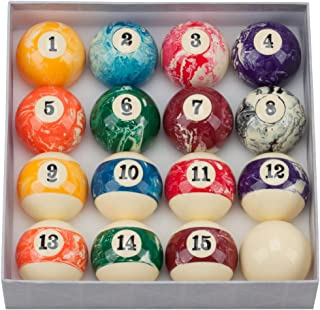 GSE Games & Sports Expert 2 1/4-Inch Professional Regulation Size Billiard Pool Ball Set (Several Styles Available)