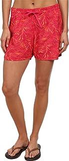Columbia Sportswear Women's Cool Coast Shorts, Bright Rose Print, Small/4