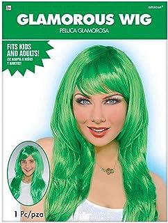Amscan Glamorous Wig, Green