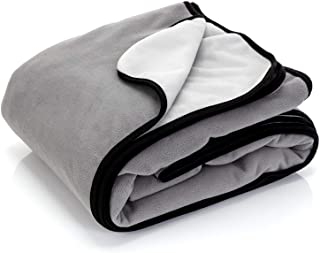 """Waterproof Blanket Cover 80""""x90"""" for People, Dogs, Cats or Any Pets - 100% Waterproof Furniture or Mattress Protector – La..."""