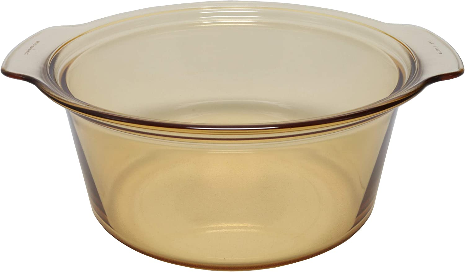 Discount is also underway Visions 1055327 5 popular 3.5 L Casserole Dutch Glass Round Amber Pot Oven