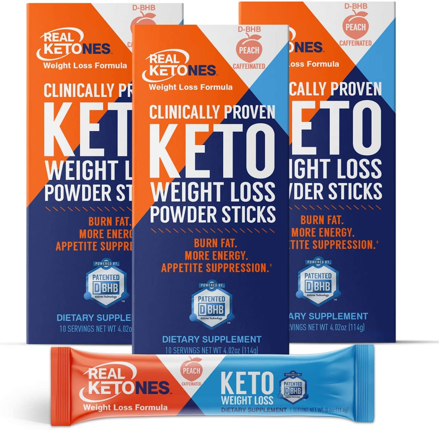 Real Ketones- Exogenous Keto D-BHB Powder 30 Safety and trust Caffeine- with Nippon regular agency Stic