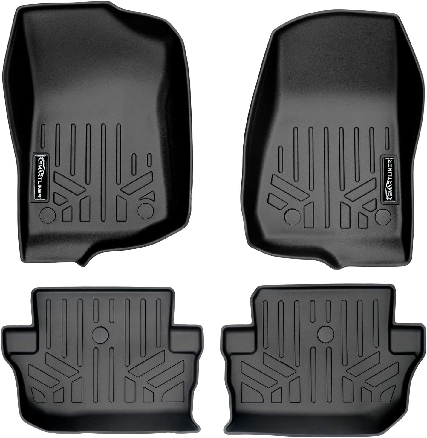MAXLINER Custom Opening large release sale Fit Floor Mats 2 for Liner 2018-20 Set Row Complete Free Shipping Black