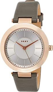 DKNY Womens Analogue Quartz Watch with Stainless Steel Strap NY2296