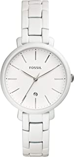 Fossil Women's Quartz Watch analog Display and Stainless Steel Strap, ES4397