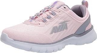 Avia Women's Avi-Factor Running Shoe, Pale Lilac/Lilac Grey/Iridescent, 8.5 Medium US