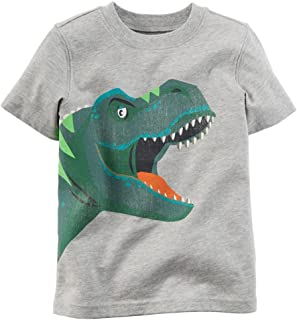 Coralup Unisex Kids Toddler Boys Girls Short Sleeve Top Cotton Tees