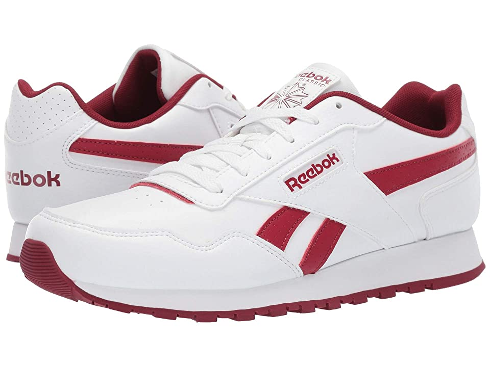 4a1b0cdbfc5 Reebok CL Harman Run S (US-White Triathalon Red) Men s Shoes