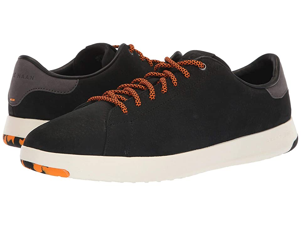Cole Haan GrandPro Tennis Sneaker (Black/Tumeric) Men