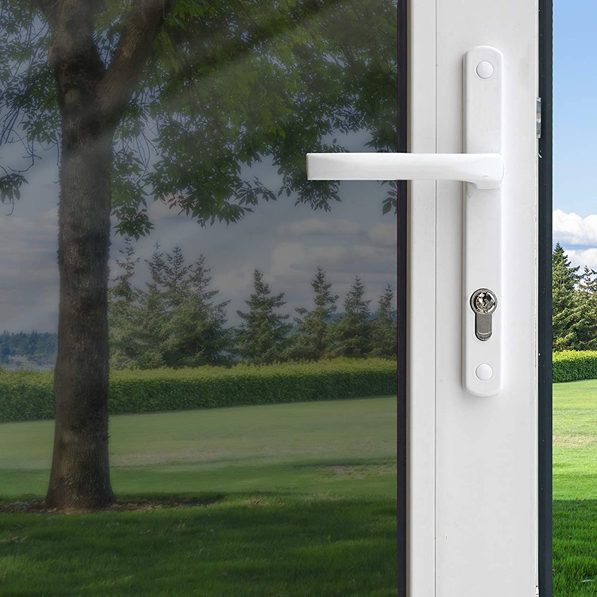 Gila Heat Control Platinum Adhesive Residential DIY Window Film Sun Blocking Glare Reduction 3ft x 15ft (36in x 180in)