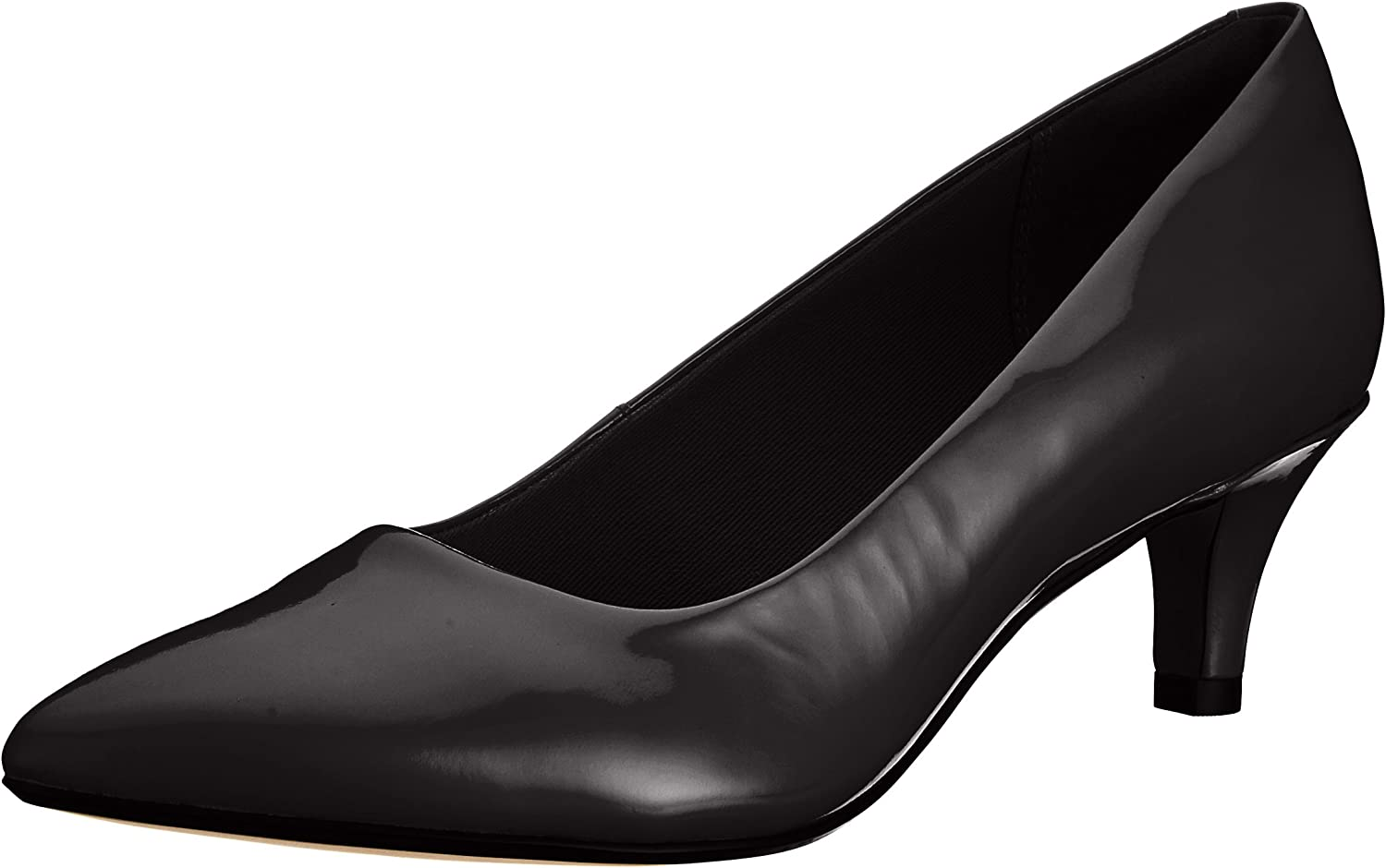 Clarks Women's Linvale Jerica Patent Leather Pointed Court shoes
