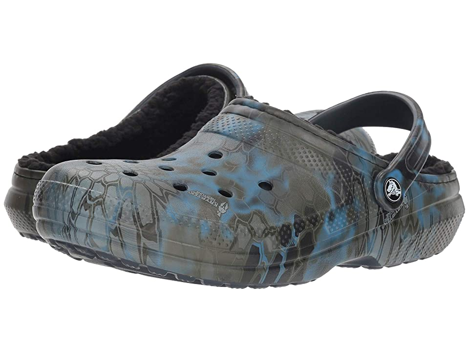 Crocs Classic Kryptek Neptune Lined Clog (Navy) Clog Shoes