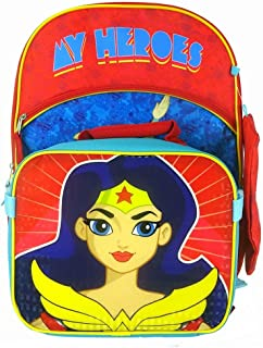 DC Superhero Girls Backpack Set ~ 3-Pc 16