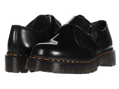 Dr. Martens 1461 Fenimore Bex Buckle (Black) Shoes