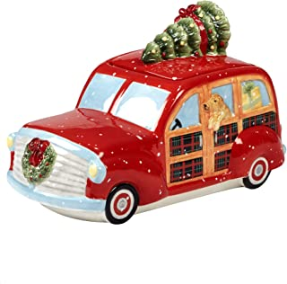 Certified International 22792 Home for Christmas 3-D Truck Cookie Jar 11