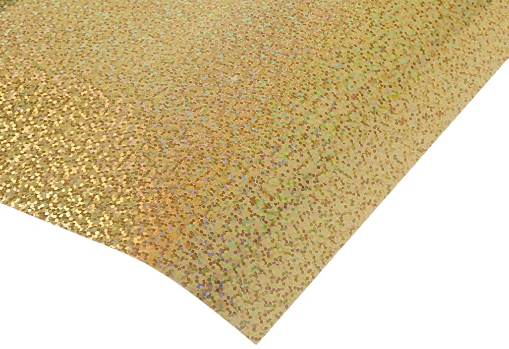Vinyl ADV50089 12x24 Sparkle Removable Adhesive, Gold