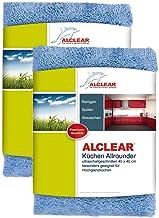 ALCLEAR 950002/_5 Lot de 5 chiffons /à fen/êtres en microfibre Blanc 60 x 45 cm