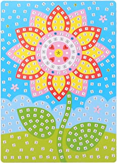 ULTNICE Mosaic Sticker Art Craft Kits Foam Stickers Puzzle Drawing Sticker Early Learning Art Kit for Preschool Toddlers B...