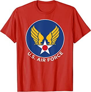 Marvel Captain Marvel U.S. Air Force Badge Graphic T-Shirt