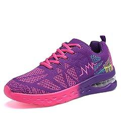 1ecdcb2788765 Lightweight air running shoes sports womens walking jogging gym ...
