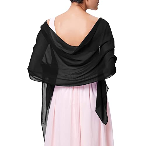 a7a20867cf Kate Kasin Soft Chiffon Scarve Shawls Wraps and Pashmina for Evening Party  KK229
