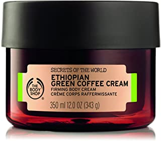 The Body Shop Spa of the World Ethiopian Green Coffee Body Cream 350ml - help skin feel firmer and smoother.