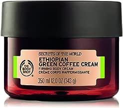 The Body Shop Spa of the World Ethiopian Green Coffee Body Cream, 12 Ounce