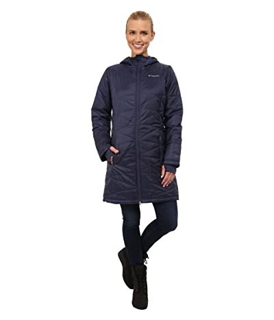 Columbia Mighty Litetm Hooded Jacket (Nocturnal) Women