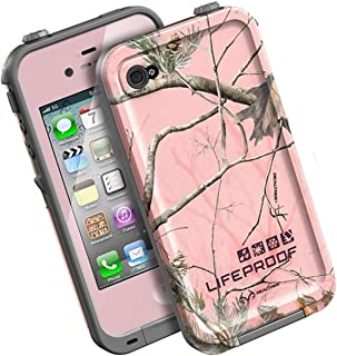 LifeProof FRE iPhone 4/4s Waterproof Case - Retail Packaging - PINK/AP PINK REALTREE CAMO (Discontinued by Manufacturer)