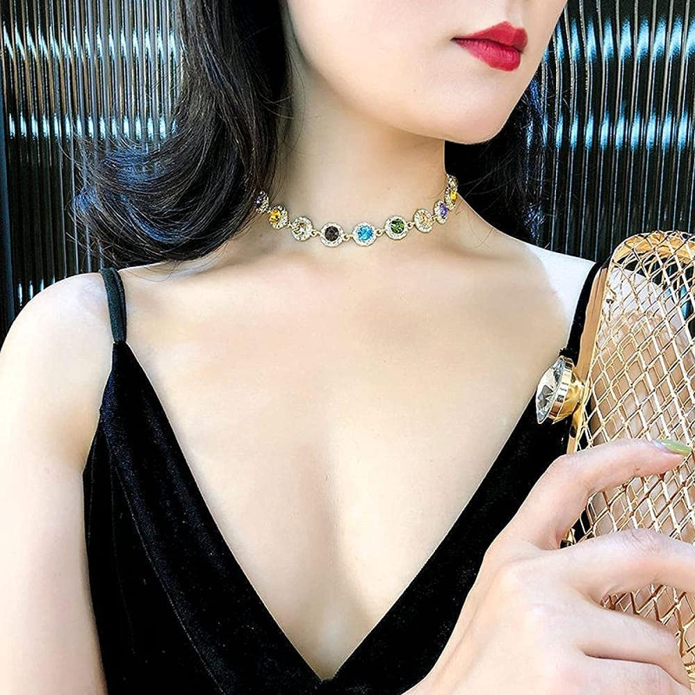 LJQJYFC NecklaceColor Fashion JewelryEuropean and American Palast StyleNecklaceNecklaceValentine's DayMother Gifts