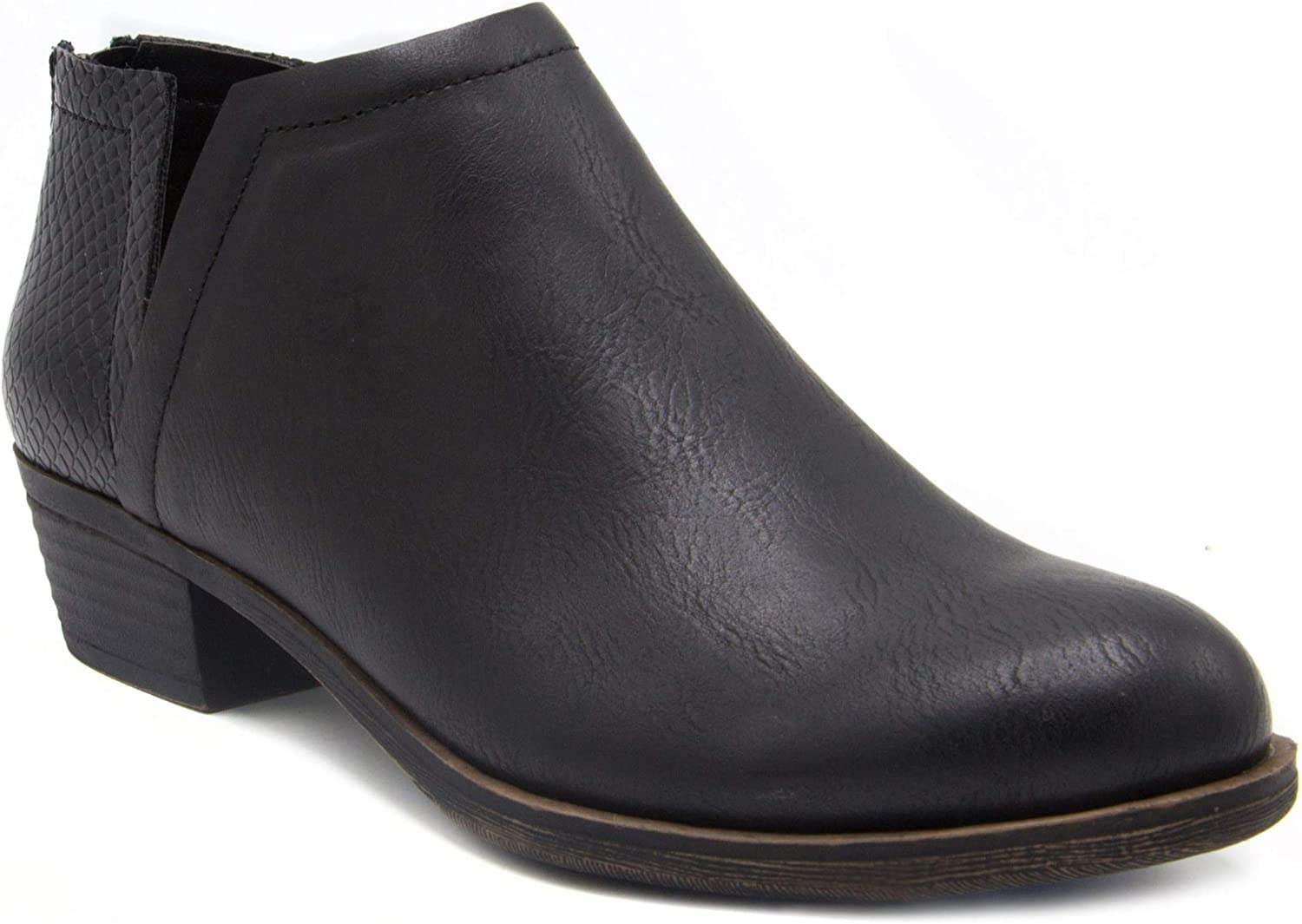 LONDON FOG Womens Might Ankle Boot