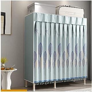 Garde-robe XINYALAMP Assemblez la rangée Placard Portable Placard étagères d'étagères d'armoire d'armoire Extra Forte et D...