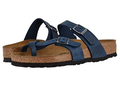 Birkenstock Mayari (Blue Oiled Leather) Women