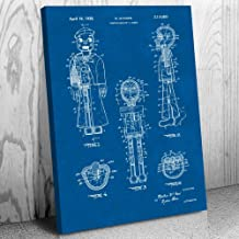 Patent Earth Ventriloquist Dummy Canvas Print, Ventriloquism Gifts, Prop Comedian, Stand Up Theater, Vaudeville Act, Sailor Puppet Blueprint (16