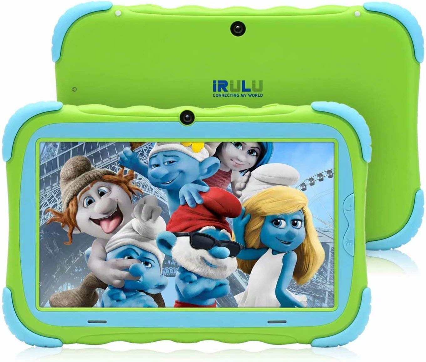 Kinder Tablet, Kindertablet Pad Lerntablet für Kids, 7-Zoll-HD-Touchscreen, Dual Camera, Android OS Bluetooth WiFi für Jungen Mädchen Green