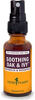 Herb Pharm Soothing Oak and Ivy Topical Herbal Spray - 1 Ounce