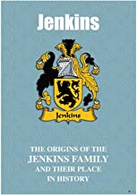 Jenkins English Family Surname History Booklet with Brief Historical Facts