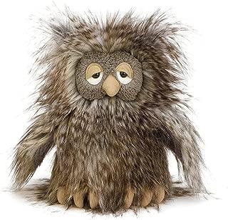 Jellycat Mad Pet Orlando Owl Stuffed Animal, 9 inches