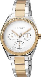 Esprit Slice Multi Stones Women's Silver Dial Stainless Steel Analog Watch - ES1L099M0095