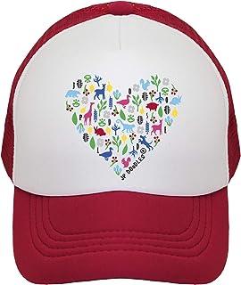 b56e4d995a6d5 JP DOoDLES Heart on Kids Trucker Hat. Kids Baseball Cap is Available in  Baby