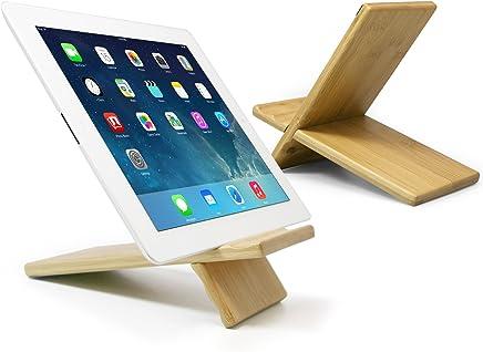 Boxwave Prestigio MultiReader Lumen 3764 Large Bamboo Panel Viewing Stand, Premium, Real, Natural Wood, Hard Panel Desktop mount – Made for Amazon Kindle Fire, iPad Air, iPad Mini, Galaxy Tab, Nexus 7 and more!