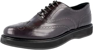 Prada Women's 1E526G X6O F0170 Full Brogue Leather Business Shoes