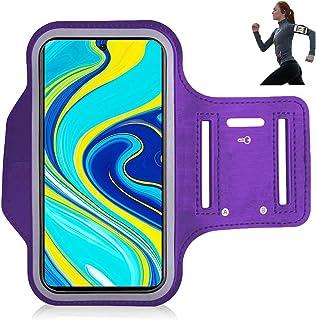 con Conector para Auriculares para Xiaomi Outinhao Brazalete Deportivo iPhone 11 Pro Max//Xr//X//8//7 Ajustable Banda de Brazo Fitness Ciclismo