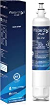 Waterdrop Plus NSF 401&53&42 Certified Refrigerator Water Filter, Compatible with GE RPWF (Not RPWFE), Reduce Lead, Chlorine, Cyst, Benzene and More