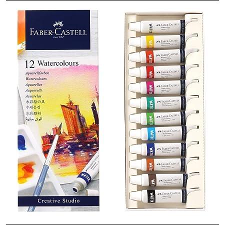 Faber-Castell Creative Studio Watercolours 5 ml Set of 12