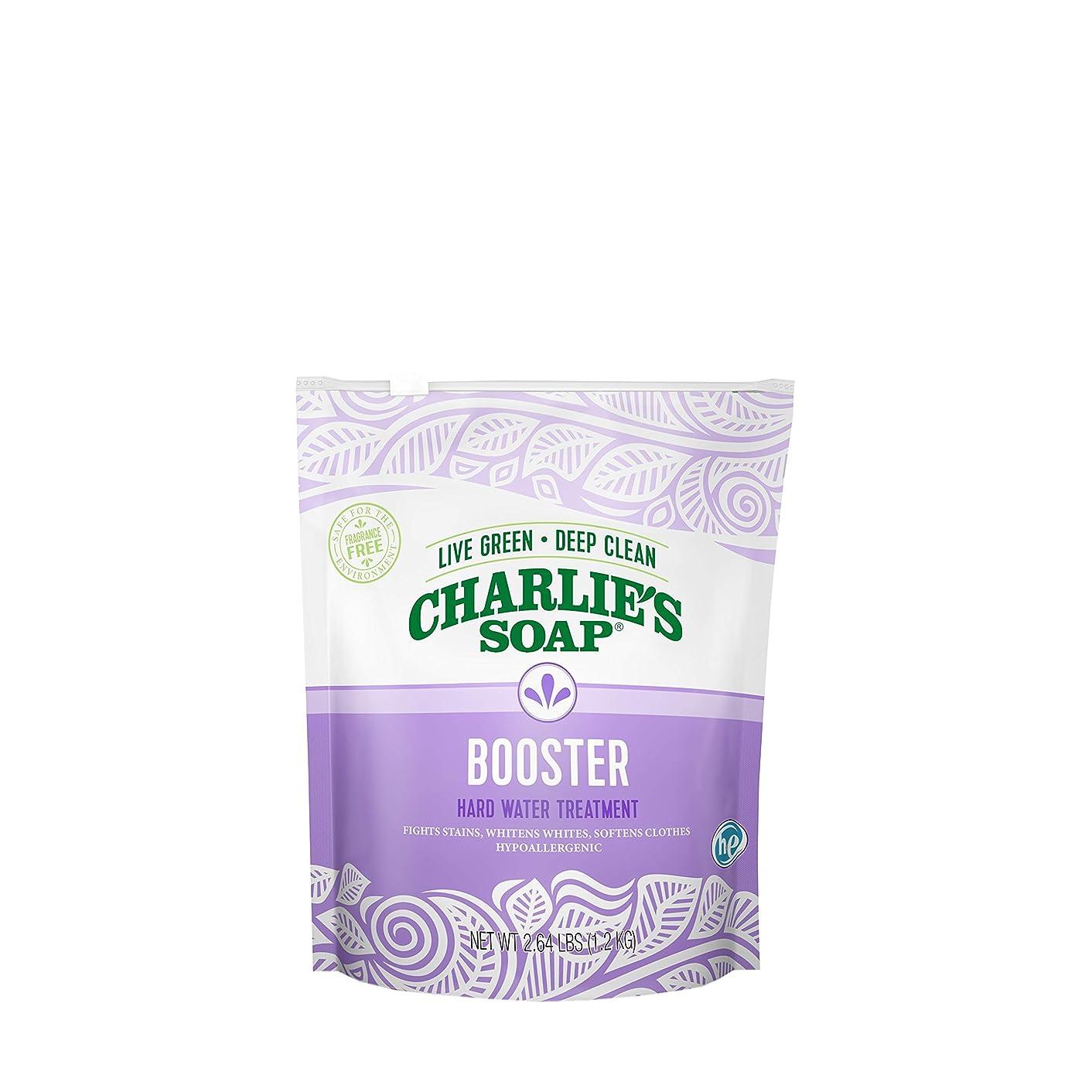 理容室発行豊富チャーリーズソープ51701ランドリーブースター&ハード水処理2.64ポンド。