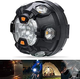 Rundumleuchte LED Orange Sicherheitslampe Auto Fahrzeug Bawoo 2 in 1 Magnetschild Taschenlampe Wiederaufladbar Warnlicht Wasserdicht