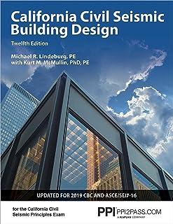 Ppi California Civil Seismic Building Design, 12th Edition - Comprehensive Guide on Seismic Design for the California Civi...