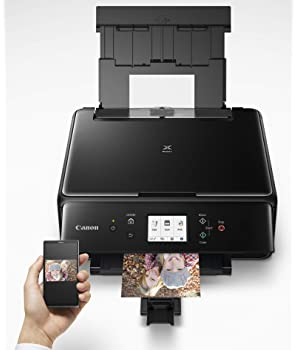 Canon 2986C002 PIXMA TS6220 Wireless All In One Photo Printer with Copier, Scanner and Mobile Printing, Black, Amazon...
