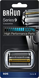 Braun 92S Series 9 Electric Shaver Replacement Foil and Cassette Cartridge - Silver OPEN BOX